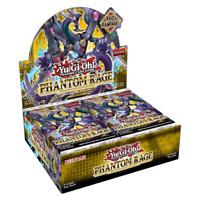 Yu-Gi-Oh! TCG Phantom Rage Sealed Booster Box 24 Packs Yugioh 1st Edition