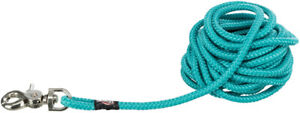 Green Tracking Dog Puppy Training Long Lead Woven Sail Round Rope 5m 10m 15m 20m