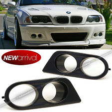 For 01-06 E46 M3 Ham Style Semi Glossy Painted Fog Light Cover Covers