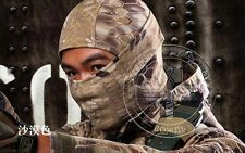 Tactical Outdoor Ski Quickdrying Hood Balaclava Full Face Mask Digi Kryptek Camo