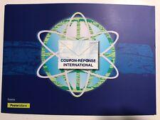 2018 Folder Coupon Reponse International UPU LE 5500 2 Coupons Doha + Stamp