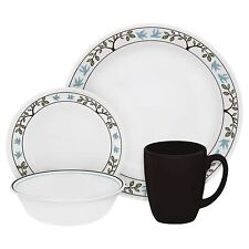 Corelle tree bird 16 PC dinnerware set paypal free shipping