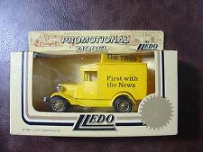 lledo vintage times newspaper van promotional vehicle