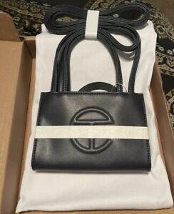 Small Navy Telfar Shopping Bag/Purse - BRAND NEW! Original packaging!