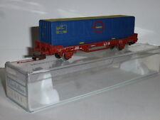 0093-Electrotren ref.1441 plataforma con contenedor Transfesa Ep.IV H0 - 1/87
