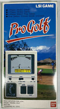 1984 Bandai LSI Game Pro Golf Hand Held Electronic Game Ban Dai Complete