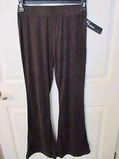 NWT - JOE BENBASSET ladies Brown Flare Leg Pants - Junior size Medium