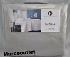 Hotel Collection 680 Thread Count Supima QUEEN Flat Sheet Palladium