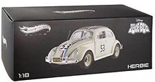 HOT WHEELS ELITE BCJ94 HERBIE THE LOVE BUG 1962 VW VOLKSWAGEN BEETLE #53 1/18