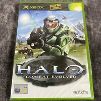 Halo Combat Evolved Original Xbox PAL Game Brand NEW Sealed *Read Description *
