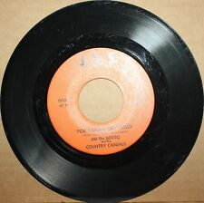 JIM DE SORBO and COUNTRY CASUALS Crying ALL I CAN TAKE Rockabilly 45 J.D.S. 0019