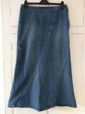 Long LIZ CLAIBORNE jean skirt - 14