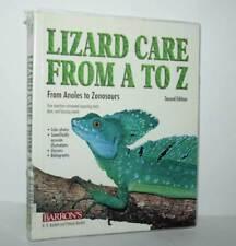 Cura Lucertole Iguana etc Lizard Care from A to Z Guide Barron's usato KJ1 56494
