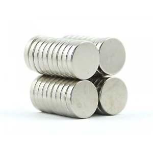 N38 15mm dia x3mm strong Neodymium disk magnets craft fridge DIY cheap Var.Packs