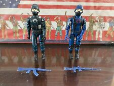 GI JOE 1983 COBRA THE ENEMY COBRA Soldier Trooper & Officer W/ Gun ARAH Lot