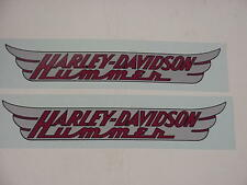 New Harley Gas Tank Decal Set 1955-1956 Harley Hummer 125 61778-55