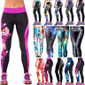 Hot Women Yoga Gym Pants Chic Leggings Fitness Jogger Stretchy Skinny Trousers