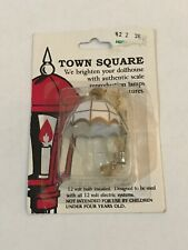Town Square Miniatures Dollhouse Chandelier Lamp Light 12 Volt Electric Systems