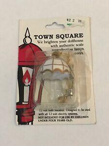 Town Square Miniatures Dollhouse Chandelier Lamp Light 12 Volt Electric Systems
