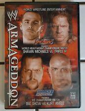 WWE Armageddon 2003 Triple H Shawn Michaels Big Show Kurt Angle Torrie Wilson