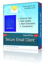 Emailing Client - Secure Email & Chat Client Suite - Supports Outlook and Gmail
