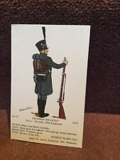 Card Rene North 37 Prussian Infantry No 3