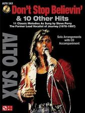 Don't Stop Believin' and 10 Other Hits : Alto Sax (2011, CD / Paperback)