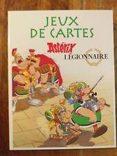 JEUX DE CARTES ASTERIX LEGIONNAIRE. Editions Atlas. Complet français.