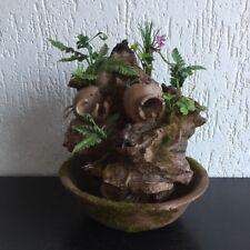 Zimmerbrunnen, Gartenbrunnen, Zen Bonsai Brunnen Mit Pumpe  23 x 23 x 27 cm