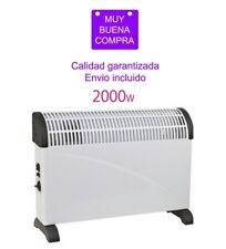 TERMOVENTILADOR VERTICAL 2000W CALEFACTOR 3 NIVELES DE POTENCIA