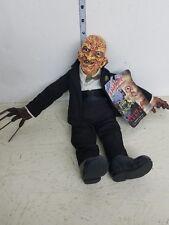 Mezco Freddy Krueger in suit Plush Figure LOOSE B