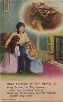 Soldiers Mother Children British WW1 Patriotic Postcard (79)