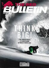 THE RED BULLETIN N°58 OCTOBRE 2016  FOURTH PHASE_SNOWBOARD_APNEE_SURFEUSE HODGE
