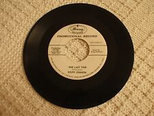 KRIPP JOHNSON  ONE LAST TIME/EVERLASTING MERCURY 71436 PROMO M-