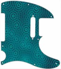 Telecaster Pickguard Custom Fender Tele 8 Hole Guitar Pick Guard Crazy Ripples B