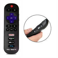 New TCL RC280 Smart HDTV Remote for TCL ROKU TV w/ HBONOW Amazon Netflix Sling