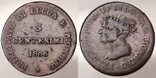 3 CENTESIMI 1806 FIRENZE PRINCIPATO DI LUCCA E PIOMBINO #1783