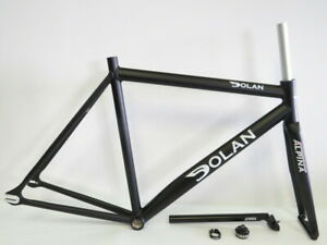 Dolan 56cm Pre Cursa Aluminum Track Frameset with Alpina Track Fork Brand New