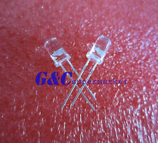 100PCS 5mm LED Lamp bicolor red-blue flashing LED Good quality Two Pins