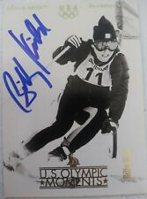 Billy Kidd signed olympic card
