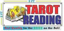 TAROT READING Banner Sign NEW 2X5