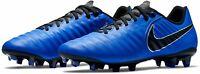 NIKE TIEMPO LEGEND 7 ACADEMY FG FOOTBALL BOOTS UK 7.5/US 8.5/EU 42  BLUE LEATHER
