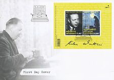Finland 2008 FDC Sheet - Mika Waltari Author Writer - Issued September 5, 2008