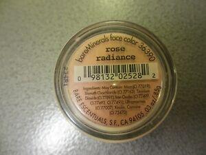 BareMinerals Face Color Rose Radiance .030Z/.85g New & Sealed