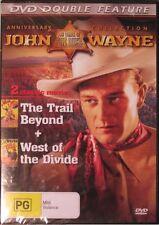 (THE DUKE) JOHN WAYNE -  THE TRAIL BEYOND + WEST OF THE DIVIDE DVD region 0 NEWl