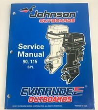 1998 Johnson Evinrude Service Manual P/N 520209 Models:90, 115 SPL