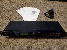 Alesis D4 drum module - single rack mount - with paperwork and power supply