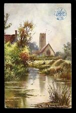 RAILWAY Norfolk Broads Irstead Staithe oilette official GER PPC 1905