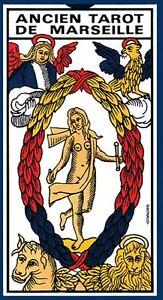 Ancien Tarot De MARSEILLE GRIMAUD 78 Cartes Avec Notice (Carte, Cards)