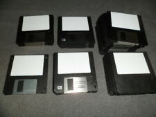 Disketten 3,5 Zoll Black HD Mixed und normal 5 no HD Formatiert auf einem AMIGA